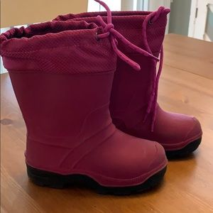 Girls Size 10 Toddler Snow Boots